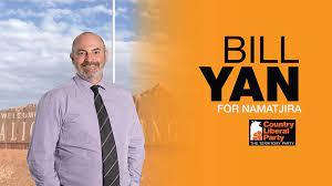 Bill Yan – Member for Namatjira