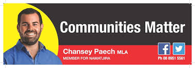 Chansey Paech – Member for Gwoja
